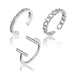 Sada jemných ocelových prstenů WS044S