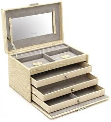 Šperkovnice béžová/šedá Jolie 23254-30