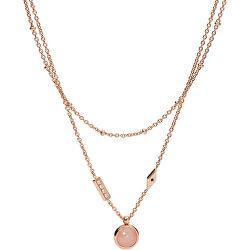 Bronzový dvojitý náhrdelník Classics JF03674791