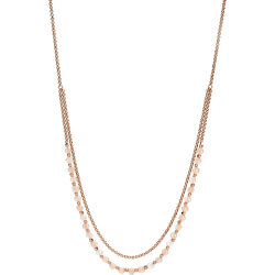 Bronzový náhrdelník s korálkami JA6918791