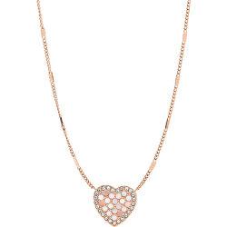 Bronzový náhrdelník s perletí JF03164791