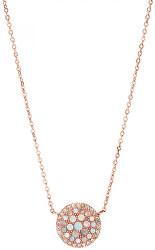 Bronzový náhrdelník s perleťou JF01740791