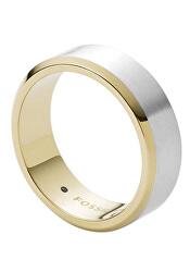Elegantní pánský bicolor prsten Mens Dress JF03726998