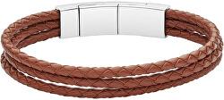Pánský kožený náramek JF02683040