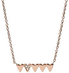 Zamilovaný náhrdelník s kryštálmi JF03369791