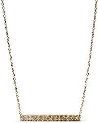 Zlatý náhrdelník s kryštálmi JF02143710