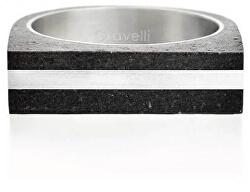 Betonový prsten antracitový Stamp Steel GJRUSSA004