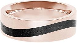 Betonový prsten Curve bronzová/antracitová GJRWRGA113