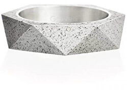 Betonový prsten šedý Cubist GJRUSSG005