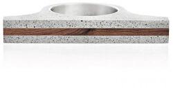 Extravagantní betonový prsten Omega Wood GJRUWOG006