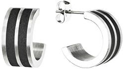 Cercei circular din oțel Fusion GJEWSSA101UN