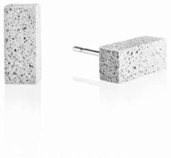 Náušnice z betonu Block GJEWNAG004UN