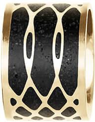 Oțel Pandantiv Aur / Antracit Merge GJPWYGA105UN