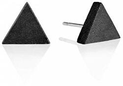 Peckové náušnice z betonu Triangle GJEWNAA003UN