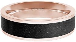 Prsteň s betónom Fusion Bold bronzová / antracitová GJRWRGA111