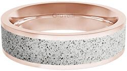 Prsten s betonem Fusion Bold bronzová/šedá GJRWRGG111