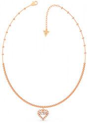 Bronzový náhrdelník se srdíčkem UBN70074