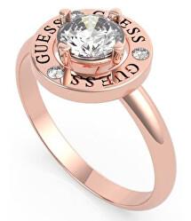Elegantní bronzový prsten s krystalem UBR20048