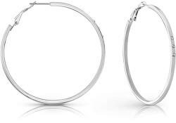 Elegáns fülbevaló átlátszó kristályokkalRound&Round UBE78078