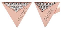 Fashion bronzové dámské náušnice Guess Explosion UBE70150