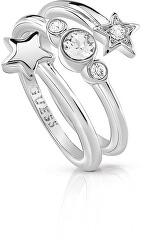 Hvězdný prsten s krystaly UBR84002