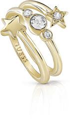 Hvězdný prsten s krystaly UBR84003