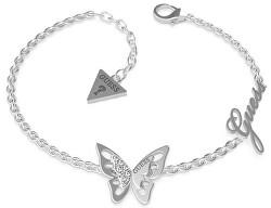 Luxusné náramok s motýľom UBB70115-S