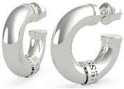 Modern acél karika fülbevalók UBE70022