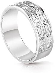 Módne prsteň s kryštálmi UBR29030
