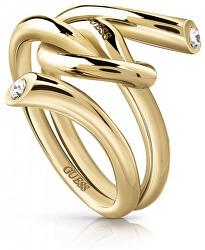 Módne prsteň s uzlom UBR29001