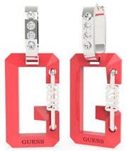 Acél bicolor fülbevaló medálokkal G Snap UBE70084