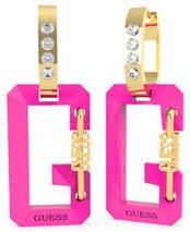 Acél bicolor fülbevaló medálokkal G Snap UBE70088