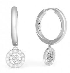 Acél fülbevaló medálokkal UBE79042
