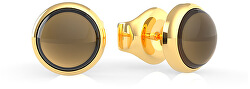 Pozlacené náušnice pecky UBE29041