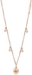 Pozlacený náhrdelník s krystaly Wanderlust UBN20029