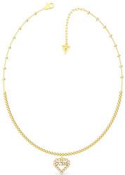 Pozlacený náhrdelník se srdíčkem UBN70073