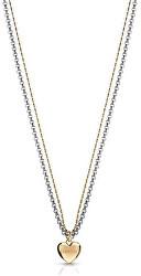 Romantický náhrdelník se srdíčkem UBN78076