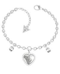 Romantický ocelový náramek s přívěsky That`s Amore JUBB01076JWRHS-S
