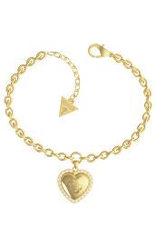 Romantický pozlacený náramek s přívěsky That`s Amore JUBB01077JWYGS-S