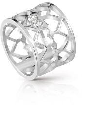 Srdiečkový prsteň UBR85006