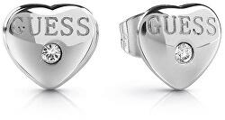 Stílusos szív fülbevaló kristály UBE28076