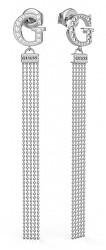 Stylové visací náušnice s krystaly Swarovski UBE79103