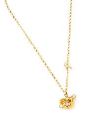 Stylový pozlacený náhrdelník s uzlem UBN29013
