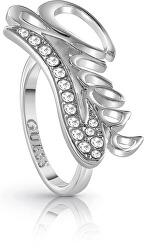 Inel distinct cu logo si cristal UBR85041