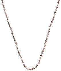 Bicolor Silber Halskette Emozioni CH056
