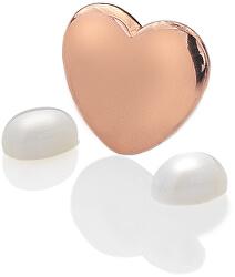 Element srdce s mesačnými kameňmi Anais Jún EX137