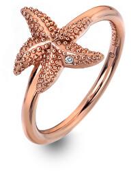 Luxus rózsaszín arany gyűrű valódi gyémánttal Daisy RG DR212
