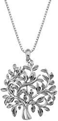 Luxusní stříbrný náhrdelník se stromem života Jasmine DP700 (řetízek, přívěsek)