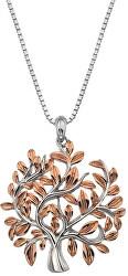 Luxusní stříbrný náhrdelník se stromem života Jasmine DP701 (řetízek, přívěsek)