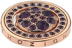 Prívesok Hot Diamonds Emozioni Alba e Tramonto Rose zlaté Coin EC247-EC253